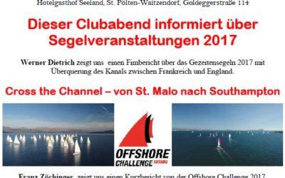 RG St. Pölten – Clubabend am 23.02.2018 🗓