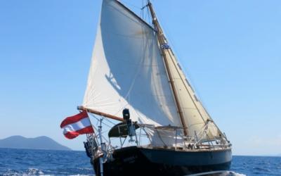 12. April, Vortrag: Atlantik-Runde mit einem 25-Fuß-Gaffelkutter 🗓