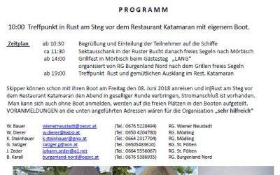 ANSEGELN 2018 Rust-Mörbisch-Rust am 09.06.2018 🗓