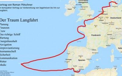 Der Traum Langfahrt: Vortrag der RG Wien am 26.2.2019 🗓